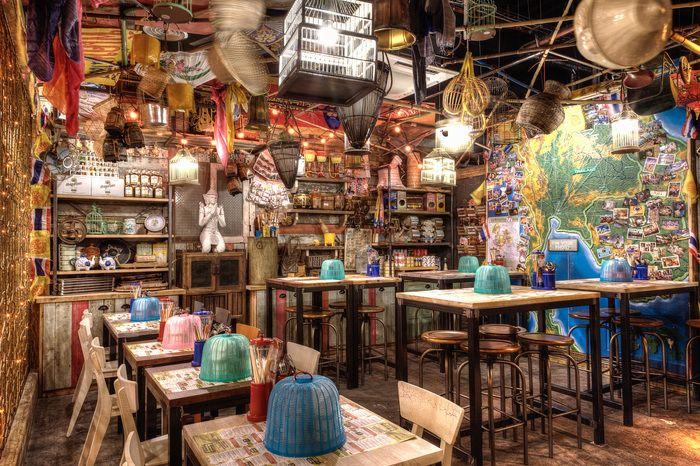 Thaikhun (Aberdeen) / Restaurant or Bar in a retail space / Jonathon Morgan Design Associates