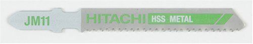 Hitachi 725377 3-Inch High Speed Steel Jig Saw Blade, Model: 725377, Hardware Store. 3 HSS. 14 TPI. Straight cut for steel. wavy tooth set. Fits CJ120V.