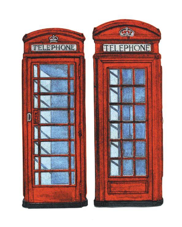 Barry Goodman | Call Boxes | #art | #London | #telephoneboxes | #print