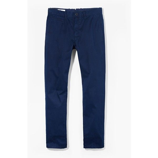 Straight-Fit Cotton Chinos (€26) via Polyvore