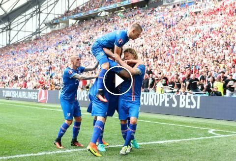 Football Highlights from UEFA Euro 2016 group F match: Iceland vs Hungary Match result: Iceland 1 - 1 Hungary Played on: June 18, 2016 Venue:Stade Vel...