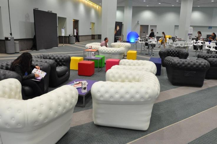 Blofield Air Design @ Los Angeles Convention Center, BizBash 2012.