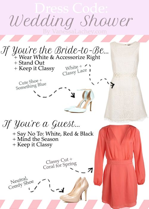 what to wear to a spring wedding shower