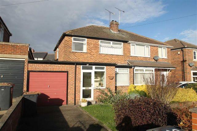 Harrogate Property News - 3 bed semi-detached house for sale Kingsley Park Road, Harrogate, North Yorkshire HG1