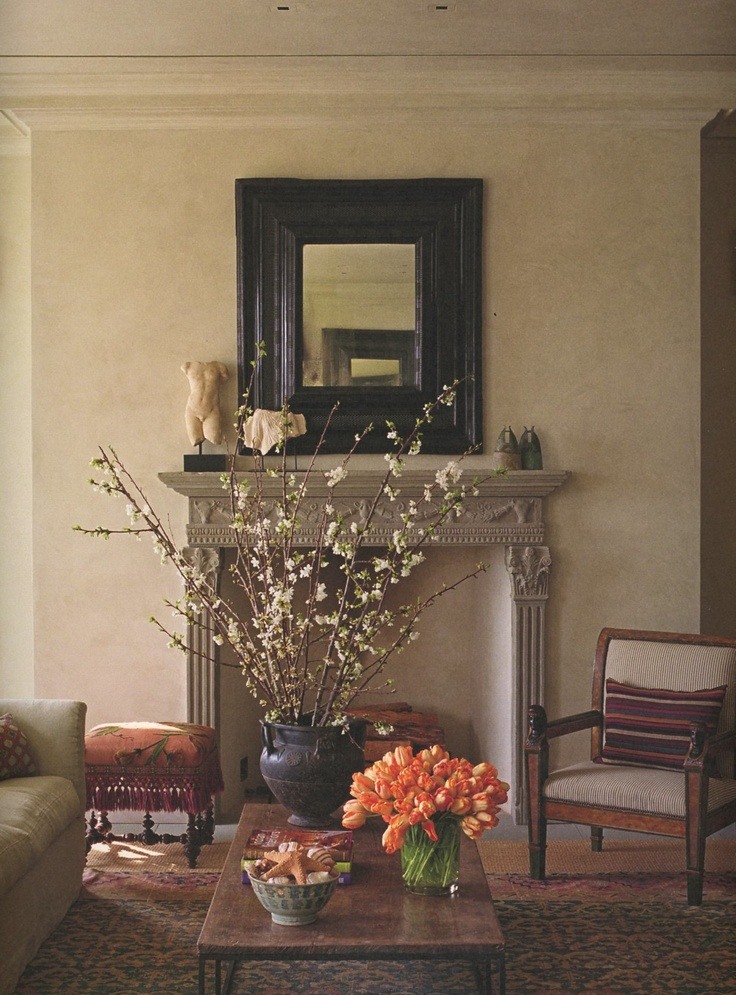 JASPER SHOWROOM IN LA.   Bespoke Chimneypiece Made For Michael S. Smith.  Living Room FireplaceFireplace MantlesFireplace DesignFireplaces. Part 81