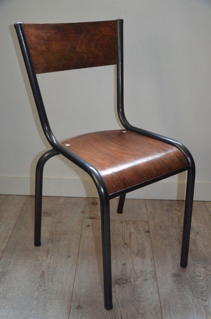 Les 25 meilleures id es de la cat gorie chaise ecolier sur - Chaise d ecolier vintage ...
