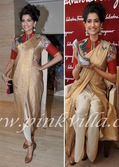Sonam Kapoor in Anamika Khanna:PINKVILLA