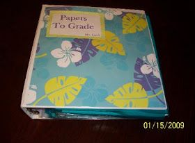 Tips & Tricks Teaching: Grading Papers Binder
