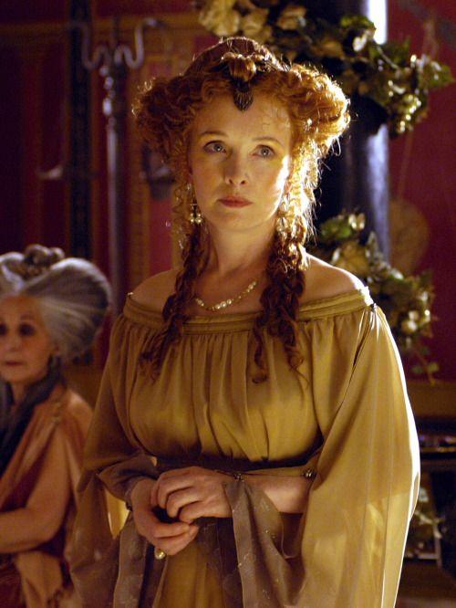 Lindsay Duncan as Servilia of the Junii in Rome (TV Series, 2005-2007).