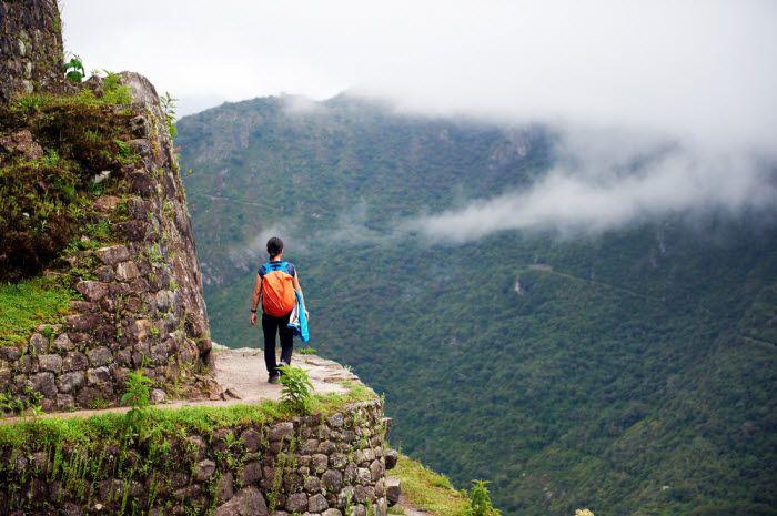 Trilha Inca em Macchu Picchu