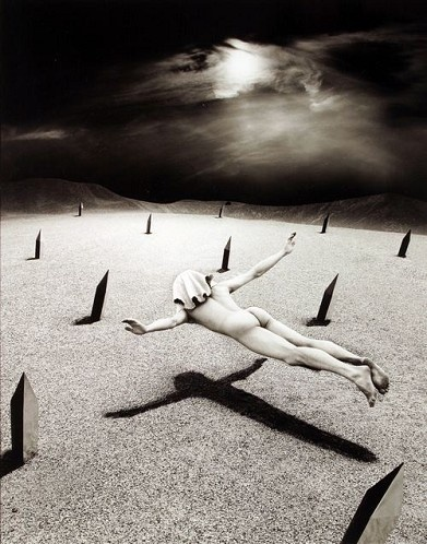 The Silent Arrow by Misha Gordin, 14 x 11 in., silver gelatin print http://www.thornwoodgallery.com/