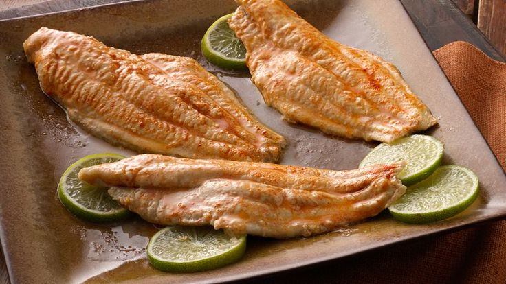 Betty Crocker's Heart Healthy Cookbook shares a recipe! Dinner ready in no time! Enjoy these mouth-watering trout flavored with garlic and herbs - broiled to perfection!
