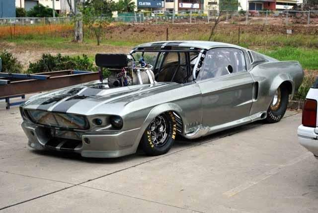 Eleanor Drag Car...JR now you need a drag car and we'll race ;)