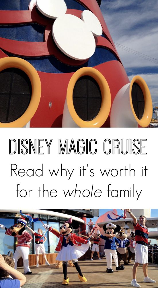 Considering a Disney cruise for spring break or summer? One mom + 2 generations convince you why the #DisneyMagic is worth it for the whole family.