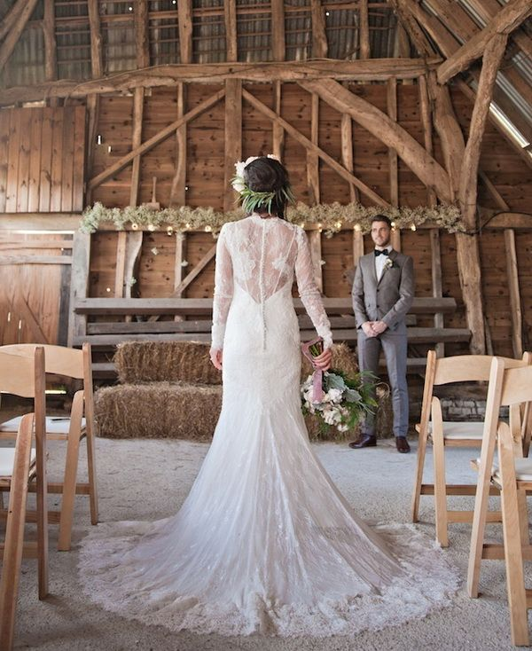 Rustic Winter Barn Wedding Ideas: 17 Best Images About Winter Weddings On Pinterest