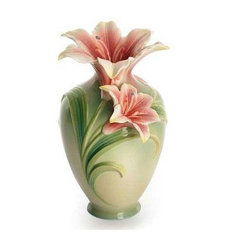 Lily Collection Vase | Porcelain | Franz Collection