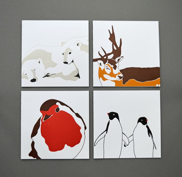 Card pack - Love Card - Christmas cards - Letterpress Christmas Cards - Christmas Card pack - Card Set - Winter Cards - Holiday Card Sets by PenguinInks on Etsy https://www.etsy.com/listing/253056826/card-pack-love-card-christmas-cards