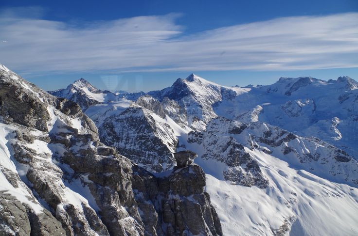 **Mount Titlis (take the cable car up) - Engelberg, Switzerland