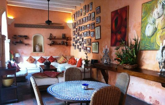Casa Fernández de Madrid. Dream Bachelor Pad in the Heart of Cartagena. Find more here: http://ticartagena.com/en/accommodation/colonial-houses/dream-bachelor-pad-in-the-heart-of-cartagena/