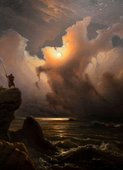 nigra-lux: BAADE Knud Andreassen (18081879) Fantasibilde fra...