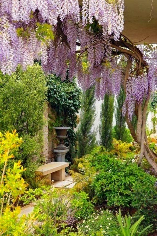 Die besten 25 blumengarten ideen auf pinterest bl tter for Gartengestaltung bauerngarten bilder