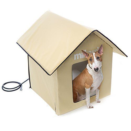 17 best ideas about insulated dog houses on pinterest for Soft indoor dog house large