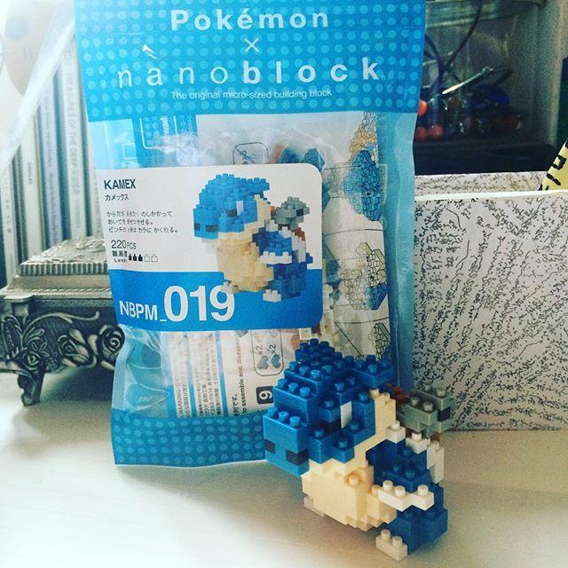 And one more! #nanoblock #pokemon #kamex #ナノブロック #ポケモン #カメックス