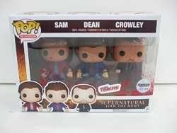 New York Comic Con 2015 Exclusive - SUPERNATURAL - Funko POP Regular Version 3 Pack - Sam - Dean and Crowley w/ Exclusive Tote Bag   Buy Online   Ubuy Australia