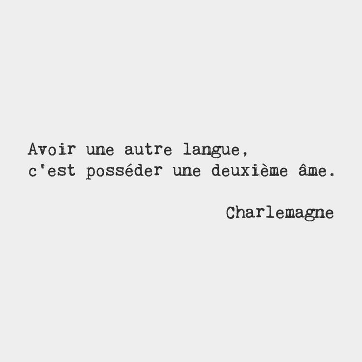 To have another language is to possess a second soul. — Charlemagne, King of the Franks, from 768 to 814