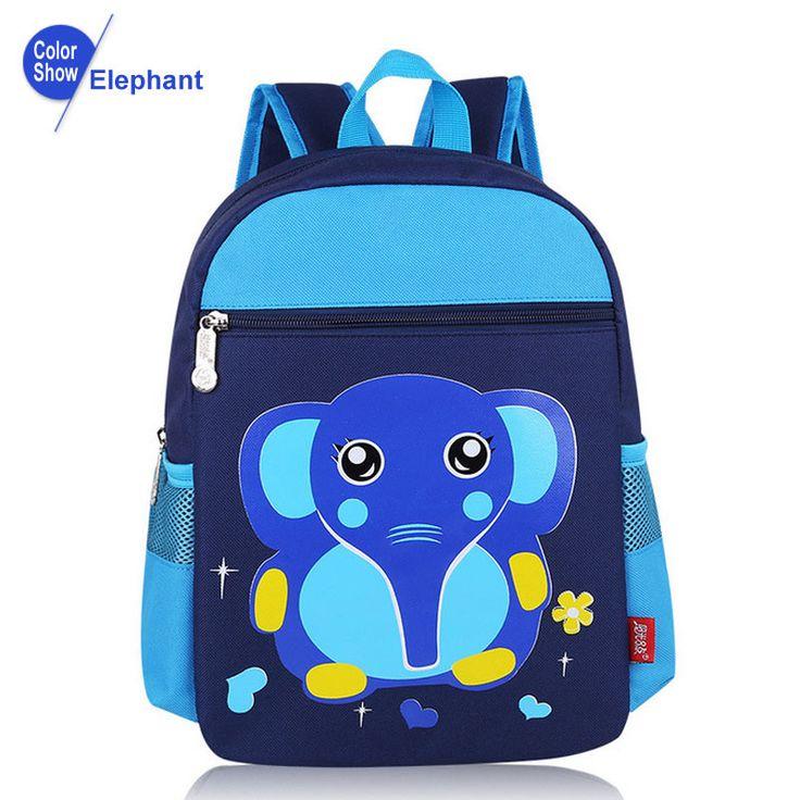 RoyaDong Children School Bags For Girls Kids Fashion Bags Printing Backpack Boy Cartoon Animals Mochila Escolar Sac A Dos Enfant