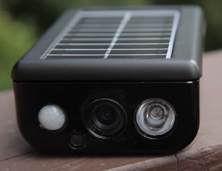 Solar Cam's passive infrared sensors catch abnormal movement and heat changes and this initiates video recording in stunningly clear HD.