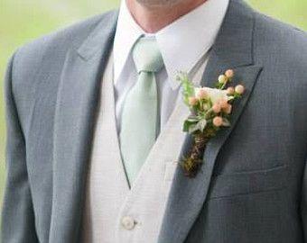 Dusty Shale Inspired Men & Boy's Cotton Tie by MiaLorenBoutique