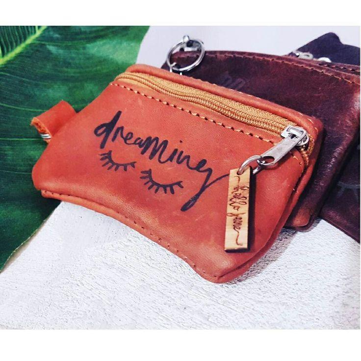 Leather coin purse with engraving by @hallojane_sa #lovezabuyza #proudlysouthafrican #hallojane Www.hallojane.co.za