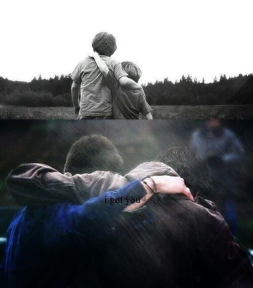"""I got you."" 