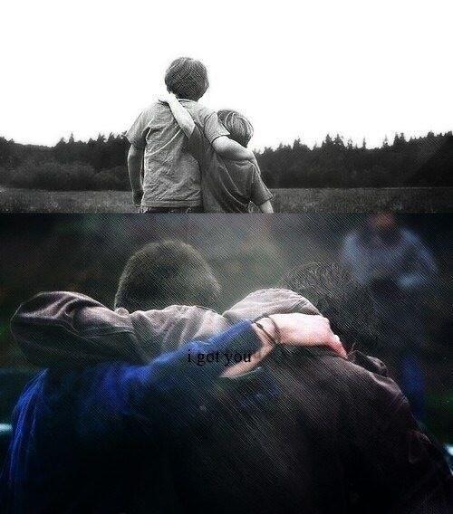"""I got you."" ||| Supernatural Brother Feels / Supernatural in a Nutshell"