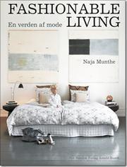 Fashionable living af Naja Munthe, ISBN 9788717042735