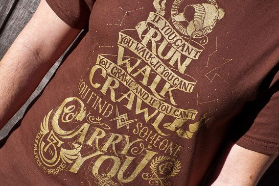 Firefly shirt - Serenity Shirt - When You Can't Run Shirt - Firefly T-Shirt - Serenity T-Shirt, Malcolm Reynolds Browncoats Shirt