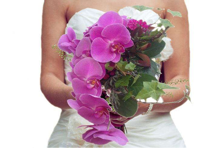 Bruidsboeket Phalaenopsis Orchidee http://www.regioboeket.nl/boeketten/bloemen/trouwen/bruidsboeket-phalaenopsis