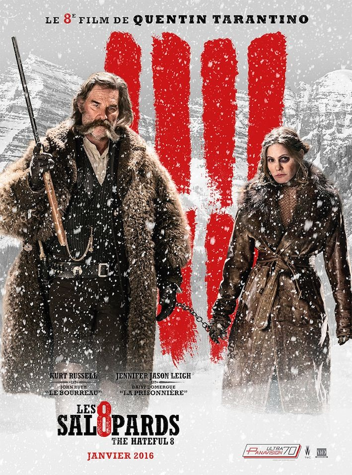 Critique des Les Huit Salopards de Quentin Tarantino en salles depuis hier 6 janvier 2016 via SND