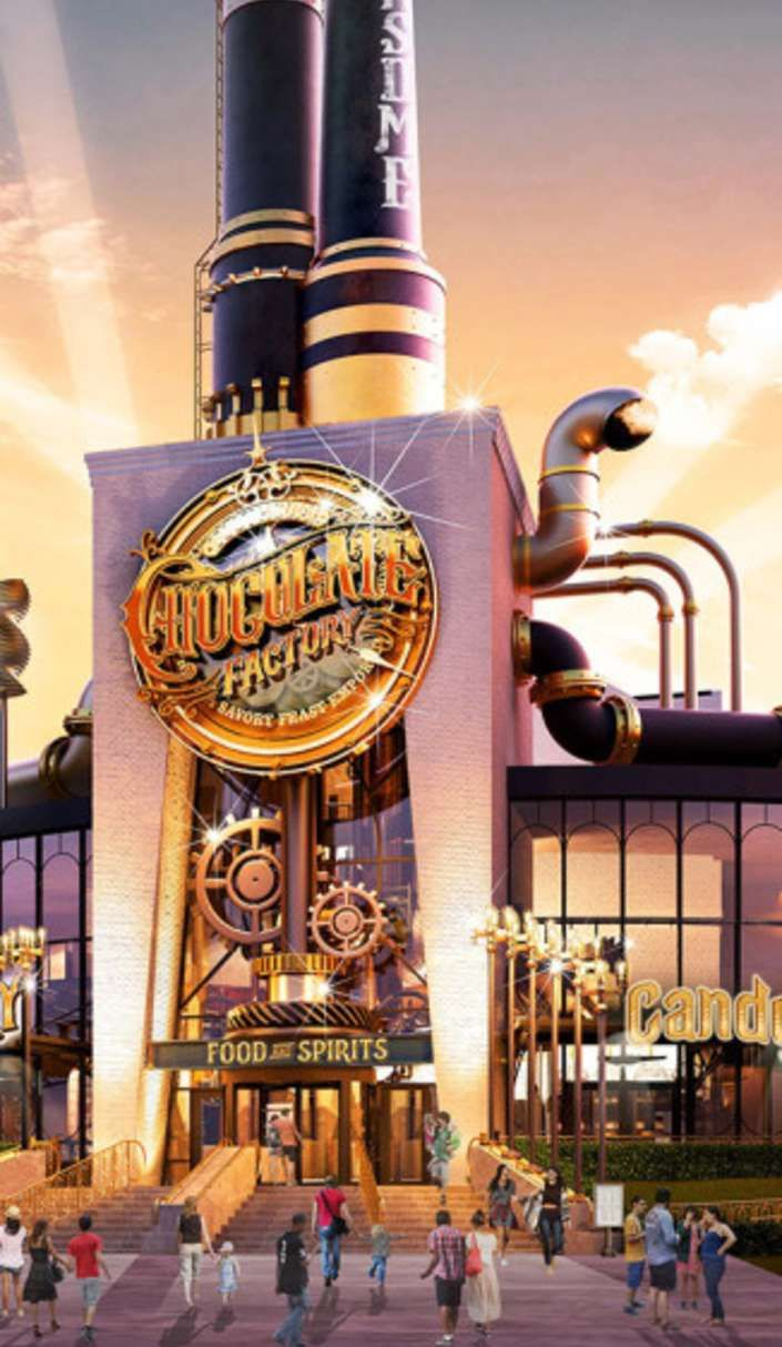 Universal Studios is making a real life Wonka Chocolate Factory--This is not a drill! This is actually happening!