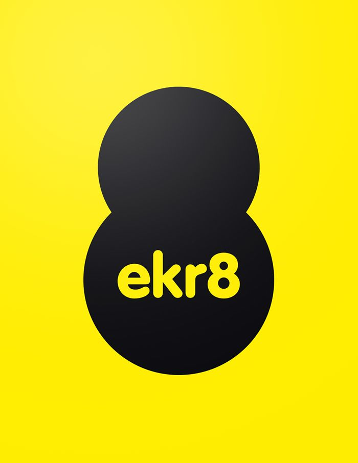 ekr8 - Logo | by Skinn Branding Agency