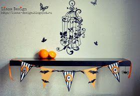 "Liana Design: Мой Хэллоуинский баннер для СП ""Осенний декор"""