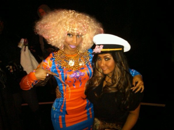 Nicki Minaj and me at the VH1 Salute The Troops! It was an amazing night and I really enjoyed meeting all the soldiers that keep this country free.