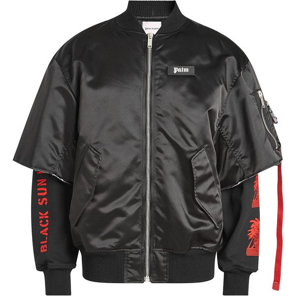 new concept ef06e 24ac4 Palm Angels Prayer Bomber Jacket (910 CHF) ❤ liked on ...