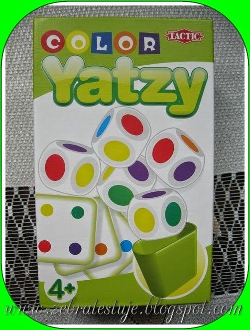 Zebra Testuje: Color Yatzy – Tactic