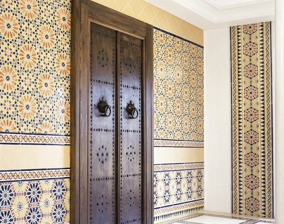 Tunisian tile, circles, squares, triangles, diamonds, hexagons & octagons oh my!