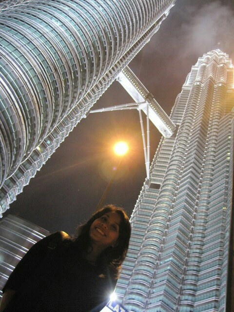 Under the moon and twin tower - Malaysia