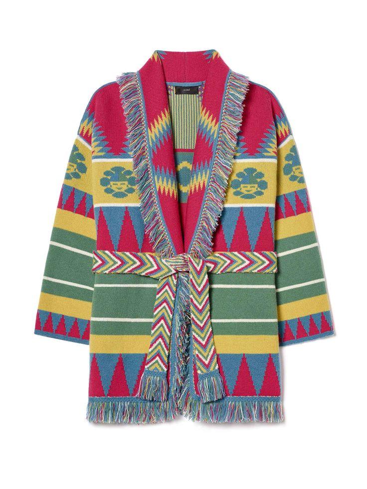 Alanui Oversized cardigan, Sweaters, Fashion