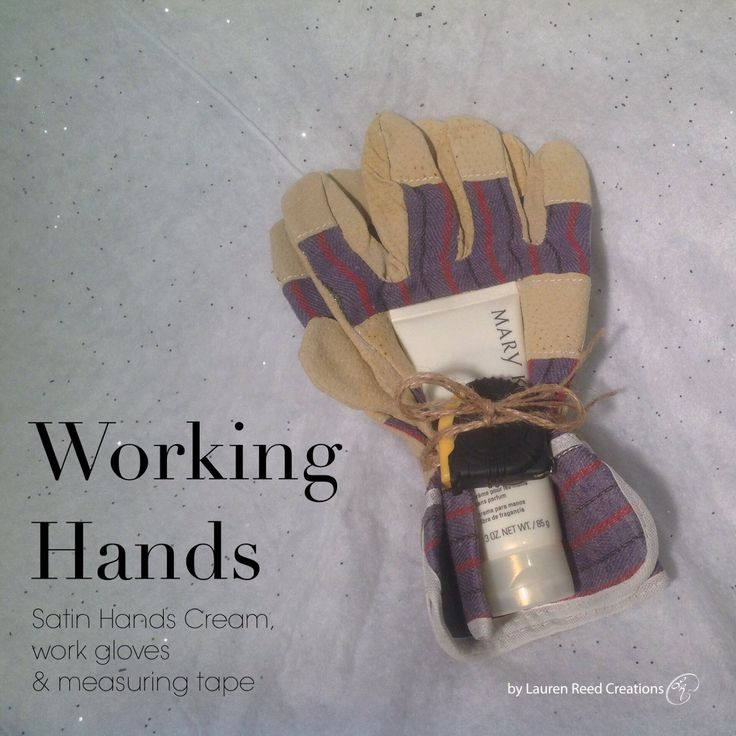 Working Hands, great gift from Mary Kay with Mary Kay's Satin Hands Hand Cream http://www.marykay.ca/smcneely