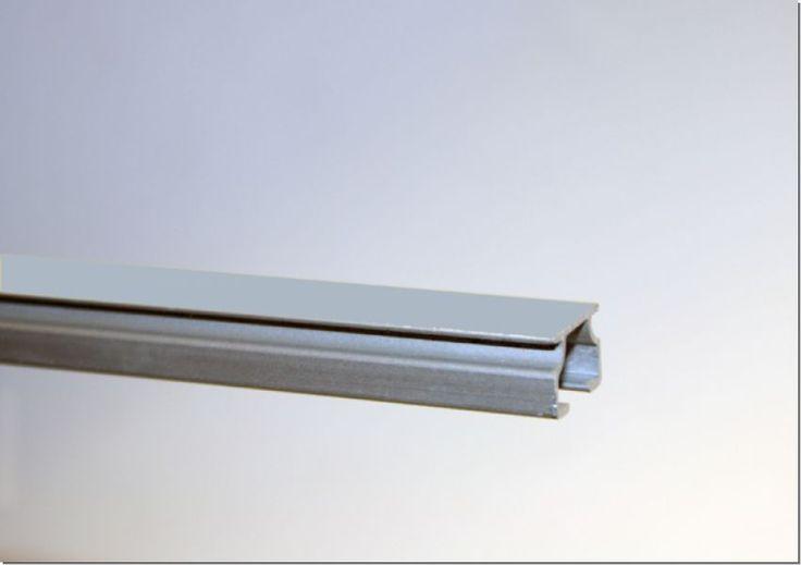 Gardinenschiene/ Vorhangschiene Alu Modell 130